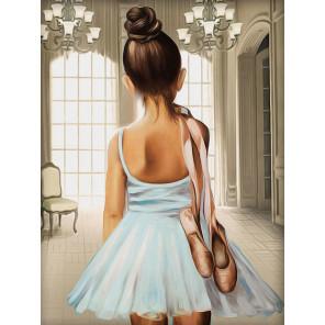 Юная балерина Алмазная вышивка мозаика АЖ-1559