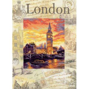 В рамке Города мира. Лондон Набор для вышивания Риолис 0019 РТ