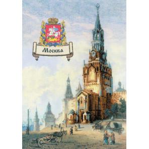 В рамке Города России. Москва Набор для вышивания Риолис 0064 РТ