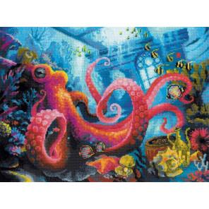 Подводное царство Набор для вышивания Риолис 1788