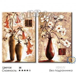 Тепло лилий Раскраска по номерам на холсте Hobbart PH26080011-Lite