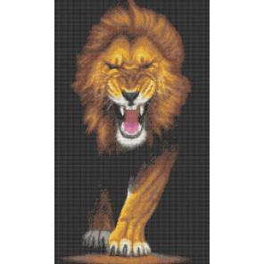 Лев. Хищники Набор для вышивания Каролинка