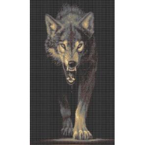 Волк. Хищники Волк Набор для вышивания Каролинка