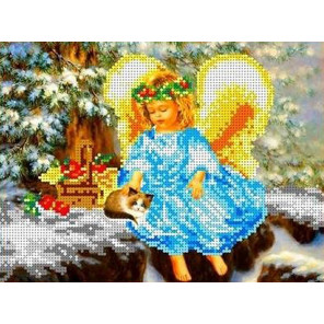 В рождество Набор для вышивки бисером Каролинка