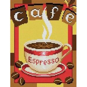 Чашка кофе Набор для вышивки бисером Каролинка