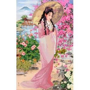 Прогулка в саду Набор для вышивки бисером Каролинка