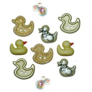 Quackers Пуговицы декоративные Jesse James & Co