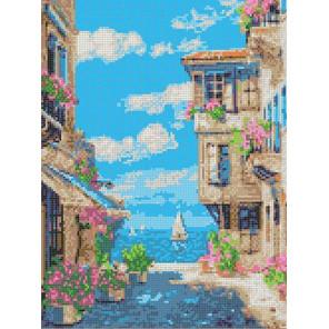 У моря Канва с рисунком для вышивки Каролинка