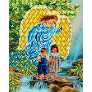 У водопада Канва с рисунком для вышивки бисером