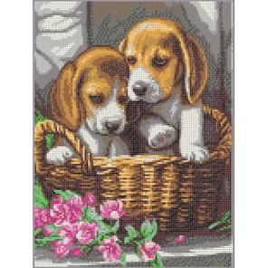 Чудесный подарок Канва с рисунком для вышивки бисером