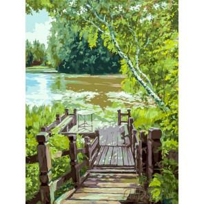 Лесенка Раскраска картина по номерам на холсте 280-AS