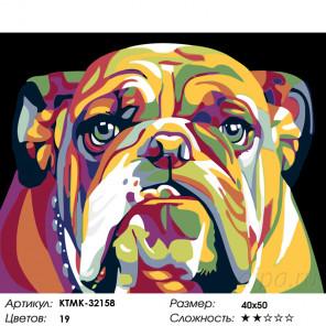Добряк Раскраска картина по номерам на холсте KTMK-32158