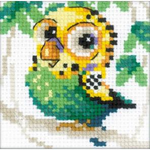 Волнистый попугайчик Набор для вышивания Риолис 1785
