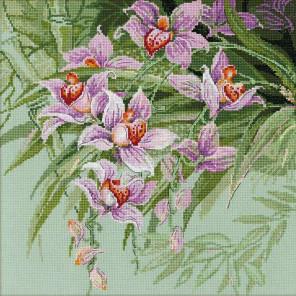 Тропические орхидеи Набор для вышивания Риолис 1401