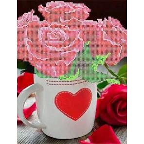 Розы для любимой Канва с рисунком для вышивки бисером