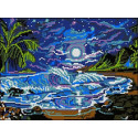 Остров грез Канва с рисунком для вышивки бисером