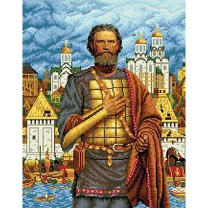Дмитрий Донской Канва с рисунком для вышивки бисером