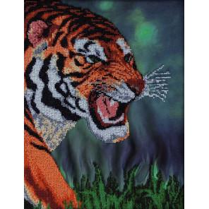 Тигр Набор для вышивки бисером FeDi
