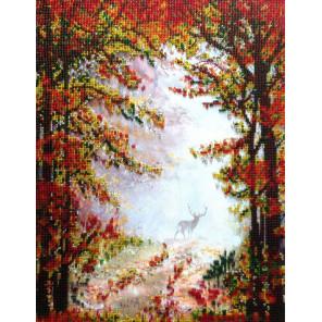 Осень в лесу Набор для вышивки бисером FeDi