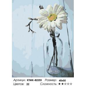 Количество цветов и сложность Красота цветка Раскраска картина по номерам на холсте KTMK-82255