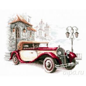 Ретро-автомобиль. Кадиллак Набор для вышивания Чудесная игла 110-022