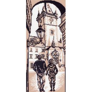 В рамке Городская ратуша Канва с рисунком для вышивки Матренин посад 1431