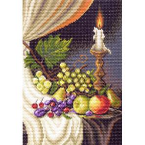 В рамке Фруктовая симфония №2 Канва с рисунком для вышивки Матренин посад 1398
