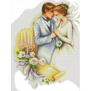 В рамке Свадьба Набор для вышивания RA195