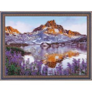 Горы Набор для вышивания бисером на подрамнике Color Kit VS019