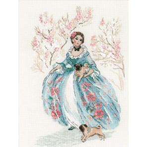 В рамке Рококо. Прогулка Набор для вышивания Риолис 1723
