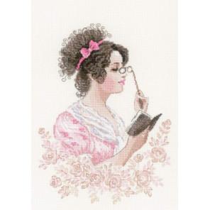 В рамке Книжный клуб Набор для вышивания Риолис 1792