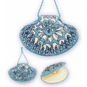 Ракушка Набор для вышивания игольницы Риолис 1802АС