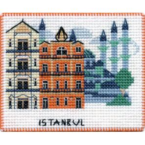Стамбул. Столицы мира Набор для вышивания на магнитной основе Овен 1069