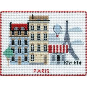 Париж. Столицы мира Набор для вышивания на магнитной основе Овен