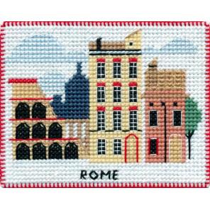 Рим. Столицы мира Набор для вышивания на магнитной основе Овен 1068