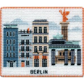 Берлин. Столицы мира Набор для вышивания на магнитной основе Овен