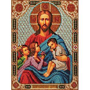 Благословение детей Набор для вышивки бисером Кроше В-197