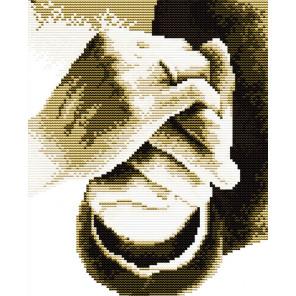 В рамке Держи меня за руку Набор для вышивания R060