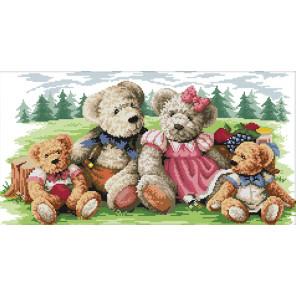Семья медведей Набор для вышивания K085