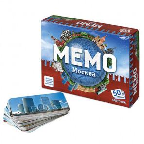 Москва Настольная игра Мемо 7205