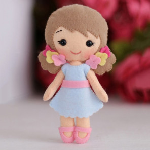 Красивая коробка Малышка Алина Набор для создания игрушки своими руками Тутти 05-49