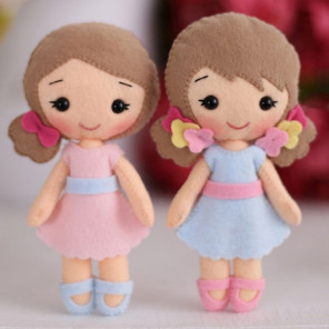 Красивая коробка Малышки Полина и Алина Набор для создания игрушки своими руками Тутти 05-50
