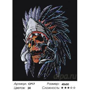 Количество цветов и сложность Ритуал Раскраска картина по номерам на холсте CP17