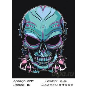 Количество цветов и сложность Бессмертие Раскраска картина по номерам на холсте CP19