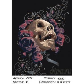 Количество цветов и сложность Музыка пустоты Раскраска картина по номерам на холсте CP06