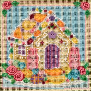 Сахарный домик Набор для вышивания бисером MILL HILL MH141914