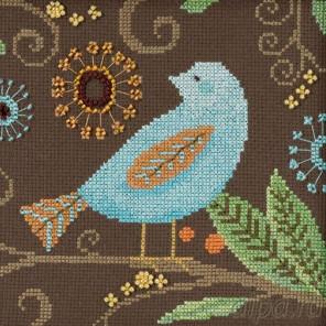 В рамке Морская птица Набор для вышивания бисером MILL HILL DM301814