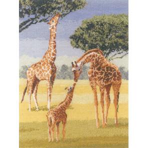 Жирафы Набор для вышивания Heritage PGGI1023E