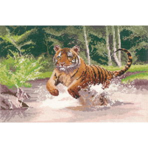 Тигр Набор для вышивания Heritage PGTI1009E