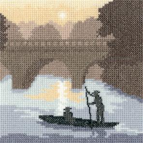 На реке Набор для вышивания Heritage PSOR1280E